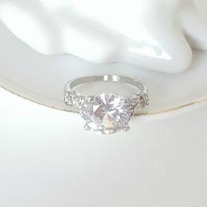 Jewelry - 3.75 Carat Simulated Diamond Engagement Ring